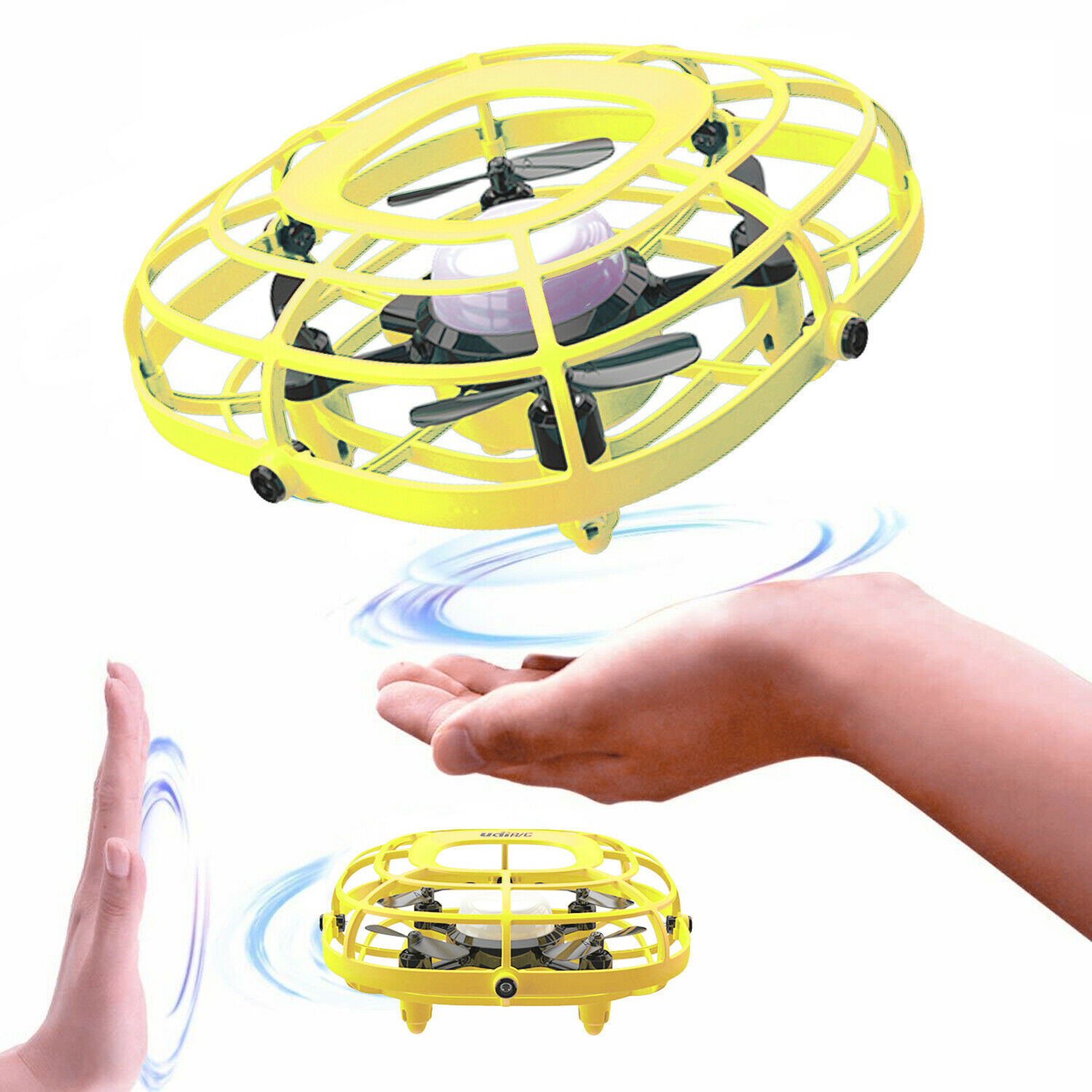 Udirc U58 For Kid RC Quadcopter Fan 2-in-1 Gesture Remote In