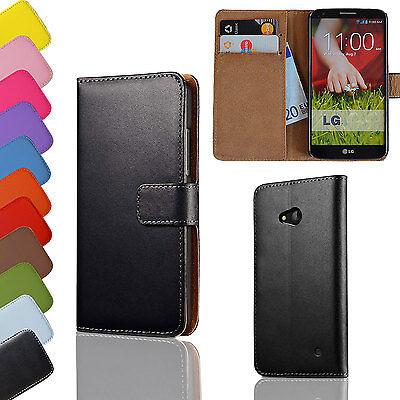 Brieftasche Handy Tasche für LG Optimus Nexus + Glas Panzer Folie Flip Case Etui (Handy Case Lg Optimus)