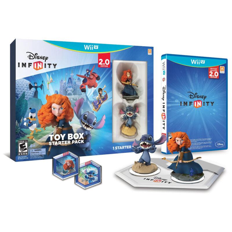 Disney Infinity: Toy Box Starter Pack (2.0 Edition) Nintendo Wii U 1192790000000