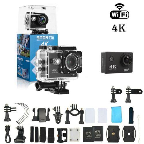 как выглядит Action Camera 4K WiFi Waterproof DV Sports Go Pro Cam Underwater Camcorder KIT фото