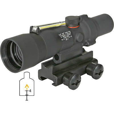Trijicon ACOG TA33-8 3x30 Riflescope Amber Chevron Reticle .223 BAC w/TA60 Mount