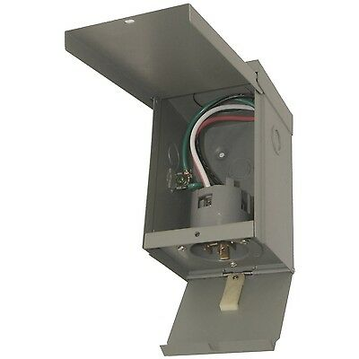 Connecticut electric EGSPI30 30A Rainproof Generator Power Inlet Box