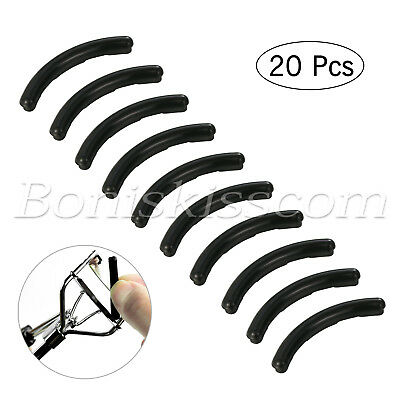 20X Beauty Eyelash Curler Silicone Rubber Refill Pad Replacement Set Makeup (Beauty Eyelash Curler)