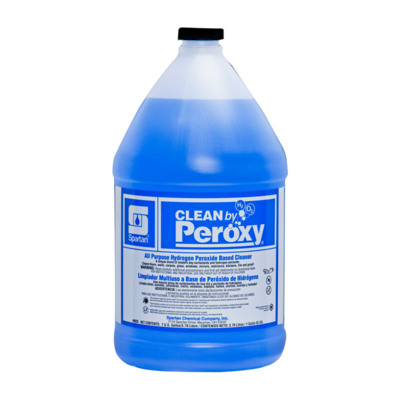 Case of 4 Gallons Spartan Clean by Peroxy All Purpose Cleaner