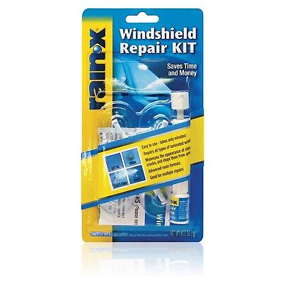 RainX Fix a Windshield Do it Yourself Windshield Repair Kit, for Chips