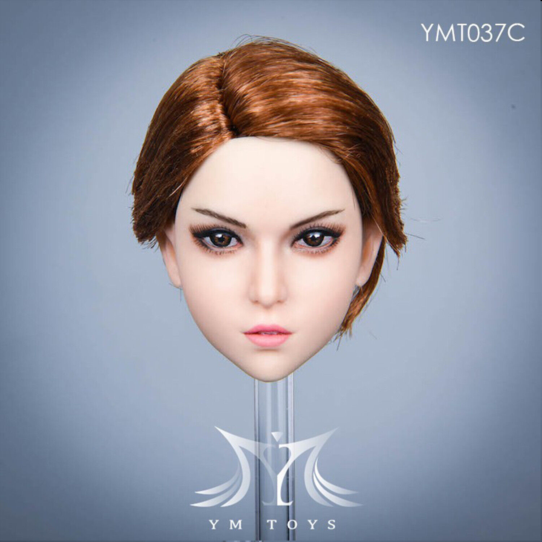 "YMTOYS 1//6 Blond Hair Head Sculpt Anna YMT026C Fit 12/"" Female Action Figure"