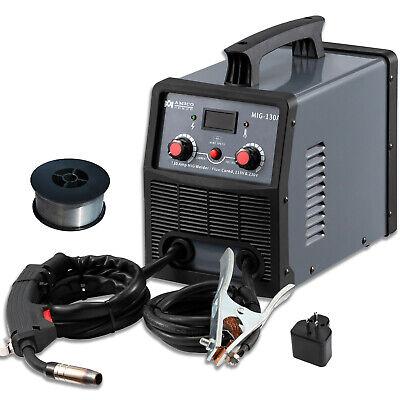 130 Amp Migflux Core Welder 115230v Dual Voltage Inverter Welding Soldering