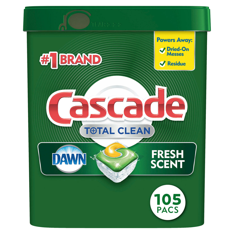 Dishwasher Detergent Cascade Platinum ActionPacs Dishwasher