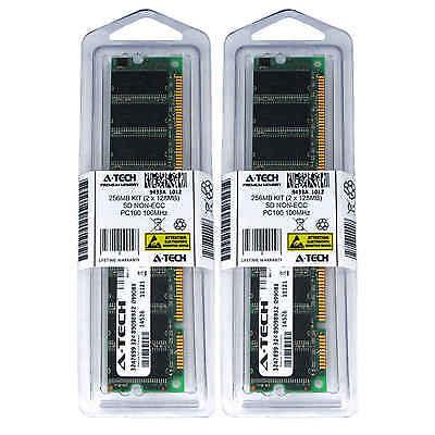 128 Mb Ecc Pc (256MB KIT 2 x 128MB DIMM SD NON-ECC PC100 100 100MHz 100 MHz SDRam Ram Memory )