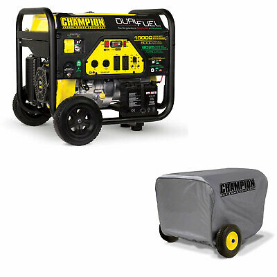 Champion 8000 Watt Portable Dual Fuel Generator Vinyl Generator Cover