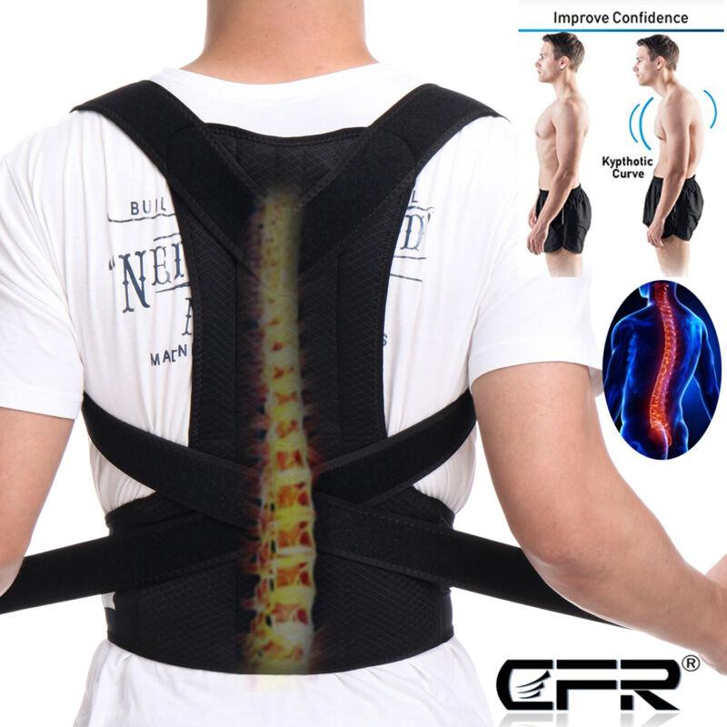 adjustable posture corrector back shoulder support correct