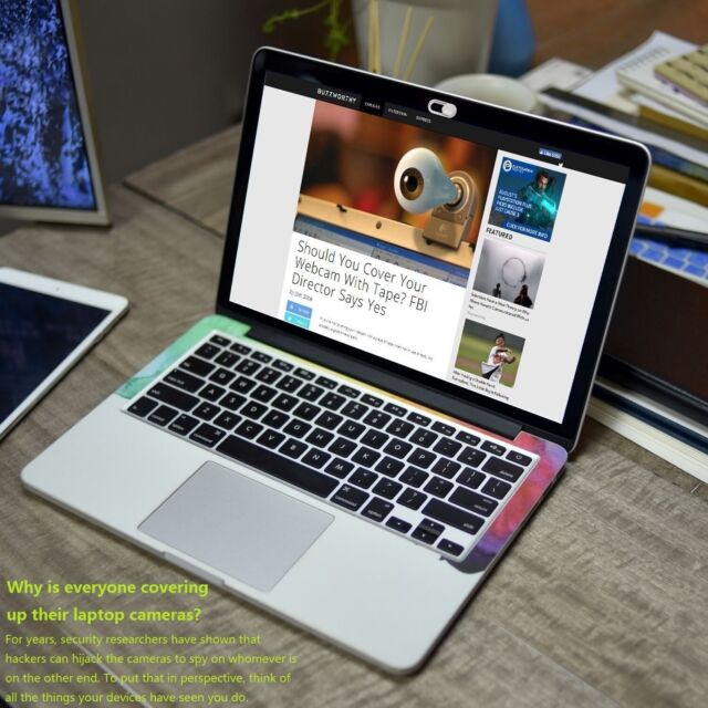 Webcam Cover Camera Privacy Color Sticker for MacBook Air iPhone ...