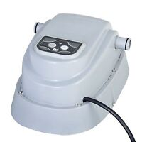 Above Ground Electric Swimming Pool Heater Outdoor Garden Pool Warmer15ft 2800w - swimming pool heater - ebay.co.uk
