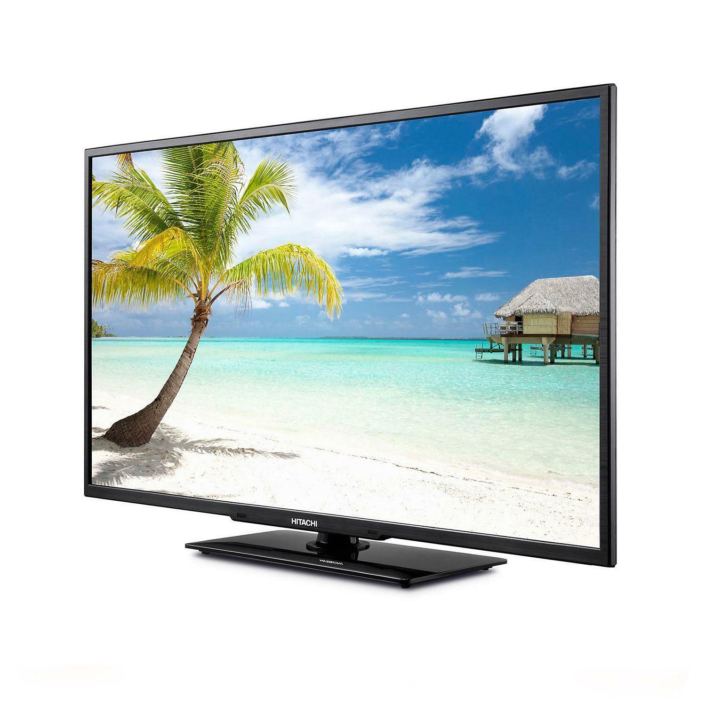 "Hitachi LE50H508 50"" 1080p LED HDTV-NO SHIPPING PICK UP ONLY-MISSING BASE"