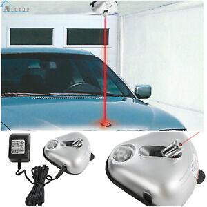 Home Garage Car Parking Assist Helper Laser Motion Sensor Aid Guide Stop Light
