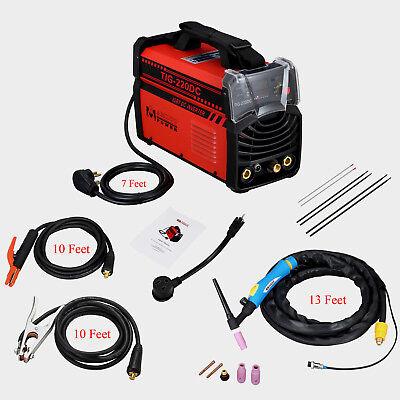 Tig-220dc 220-amp Tig-torch Stick Arc Inverter Dc Welder 110v 220v Welding
