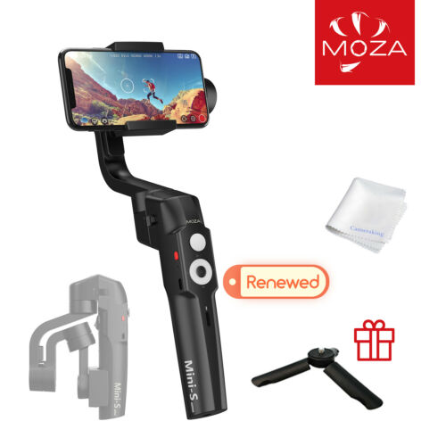 MOZA MINI S Essential Gimbal Foldable 3 Axis Smartphone Stabilizer Refurbished