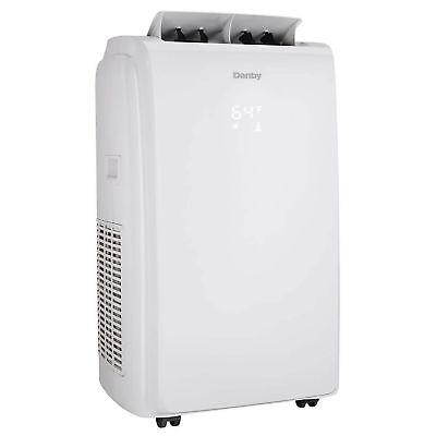 Danby 14000 BTU Portable Air Conditioner Heat Pump Fan Dehumidifier - White