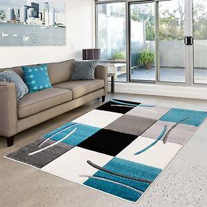 Alfombra alto valor moderno dise o sal n moda de cuadros - Alfombra salon moderno ...
