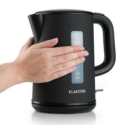 Calentador Agua Pava Electrica 1,5 L Negra Mate Eficiente Te Infusiones Veloz