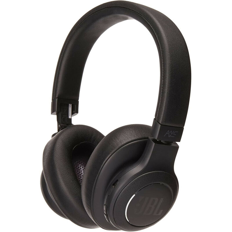 JBL Duet NC Bluetooth Wireless Over-Ear Headphones - Black
