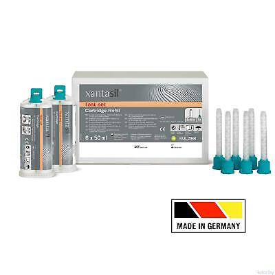 Kulzer Xantasil Alginot Type Alginate Substitute Fs 2 X 50ml Cartridge 6 Tips