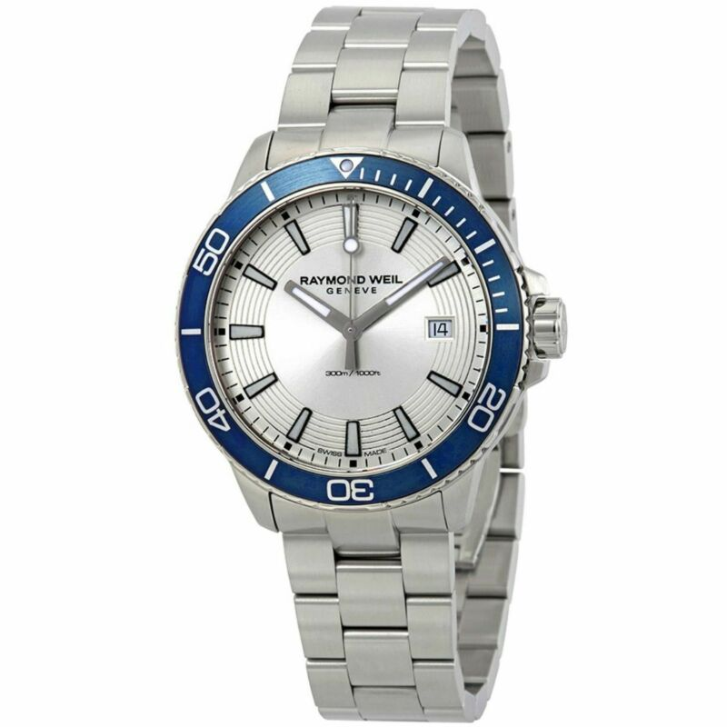 Raymond Weil 8260-ST9-65001 Men Tango Silver Quartz Watch