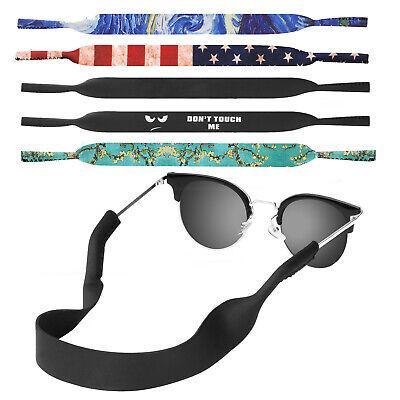 - MoKo Neoprene Eyewear Retainer,2 Pack Sports Sunglasses Retainer Strap Safety