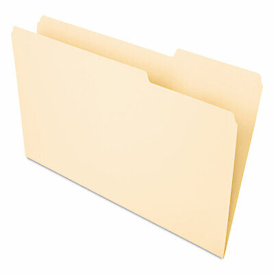Universal Recycled Interior File Folders 13 Cut Top Tab Legal Manila 100box