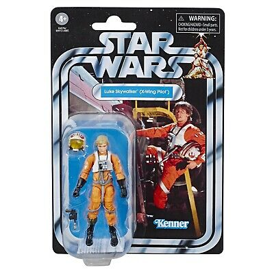 Star Wars The Vintage Collection Luke Skywalker X-Wing Pilot Figure