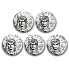 Bank Wire Payment. 2018 1 oz Platinum American Eagle BU - Lot of 5 - SKU#167911