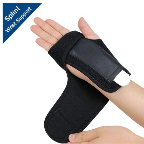 Right Left Wrist Hand Brace Support Splint Carpal Tunnel Sprain Arthritis Sports