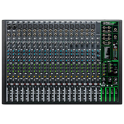 Mackie ProFX22v3 22 Channel 4-bus Professional Effects Mixer with USB Mackie Dj Mixers