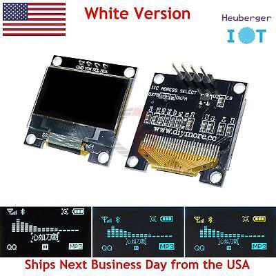 0.96 Iic Serial White Oled Display 128x64 I2c Ssd1306 12864 Arduino Lcd Screen