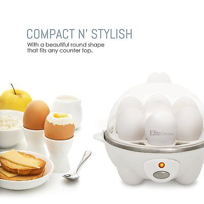 Electric Hard Boiled Egg Cooker Maker Eggs Poached Pan Kitchen Small Appliances