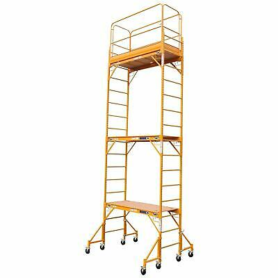 18ft Baker Perry Style Scaffold W Guard Outriggers
