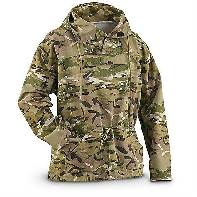 Military Style MultiCam Anorak Jacket Parka Hoodie Pullover XXL