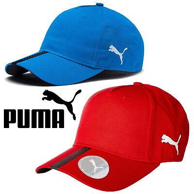 PUMA Liga Men's Baseball Caps Red Blue ✅ FREE UK SHIPPING ✅