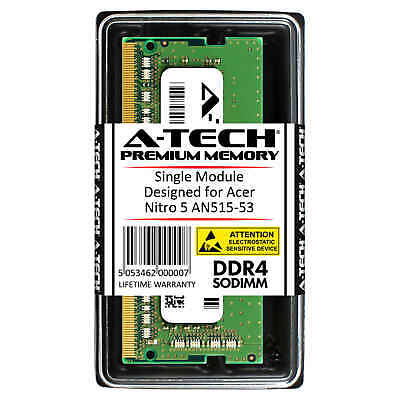 A-Tech 8GB DDR4 2400 MHz PC4-19200 SODIMM Memory RAM for ACER Nitro 5 AN515-53