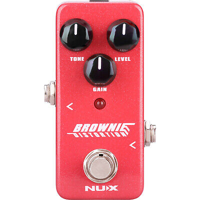 NUX Brownie Distortion Pedal Guitar Effects Pedal