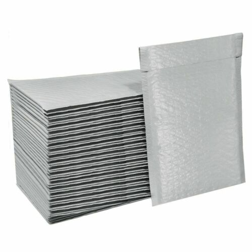 250 #CD 6.5x8.5 Poly Bubble Shipping Mailers Media Envelopes DVD 250 per Box