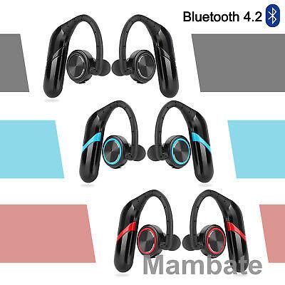 Headset Headphones Earbuds - Bluetooth Headphones Stereo Headset True Wireless Sport Earbuds HIFI Handsfree