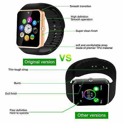 Bluetooth Smart Watch SIM Card for kids tracker kids phone watch with camera UK