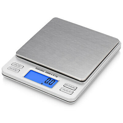 Smart Weigh Digital Pro Pocket Scale With Tare Function 2000x0.01 Gram