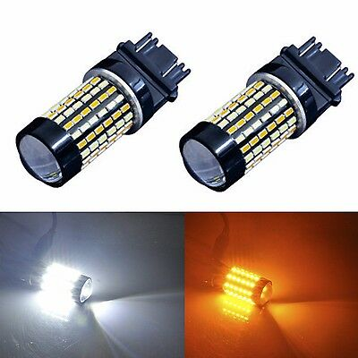 Jdm Astar 120 Smd 3157 4157Na Led Switchback White Amber Turn Signal Light Dual