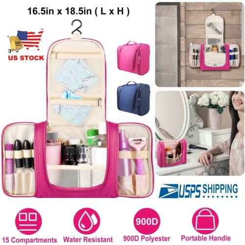 6922347e3981 Large Toiletry Bag Menwomen Hanging Wash Bag Cosmetic Makeup ...