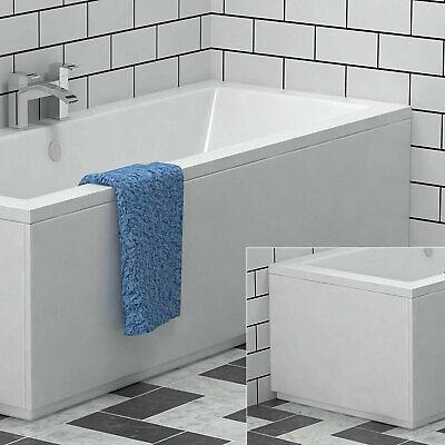 MDF Front & End Bath Panels 1500|1600|1700 Moisture Resistant Bathroom Tub Cover