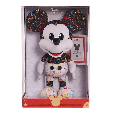 IN HAND: Disney Year of The Mouse Collector Plush, Band Leader Mickey Multicolor