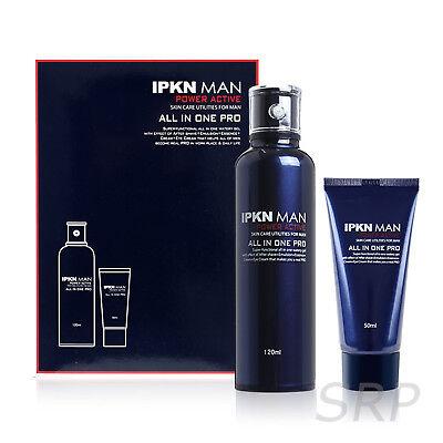 [IPKN] Man Power Active Gel Type Moisture All In One 120ml+50ml Set K Beauty