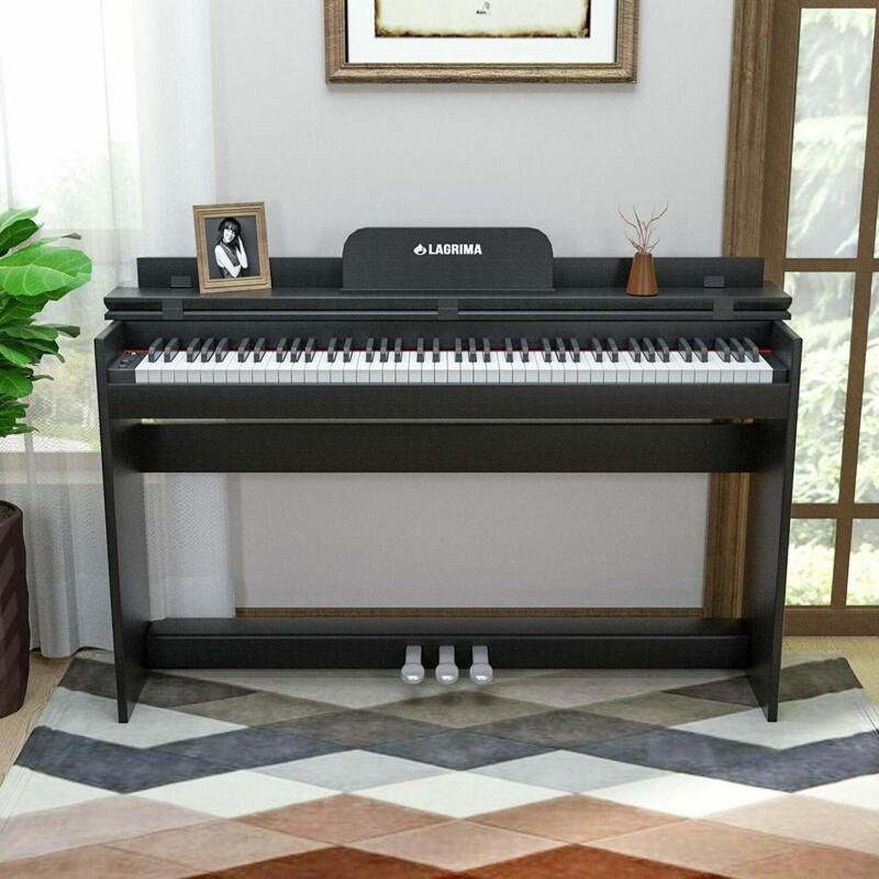 Digital Piano E-Klavier Keyboard 88 Tasten 3 Pedale mit USB/MIDI X3